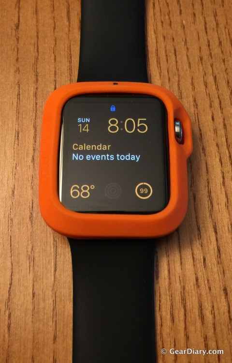 GearDiary ActionProof's THE BUMPER for Apple Watch Offers Lightweight Protection