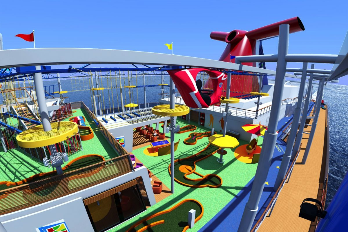 GearDiary Carnival Vista State-of-the-Art Cruise Ship Launches in Less Than a Year