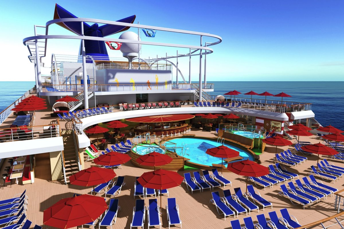 Carnival Vista State-of-the-Art Cruise Ship Launches in Less Than a Year