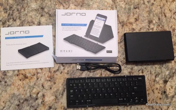 Know When To Fold Em: Jorno's Folding Bluetooth Keyboard