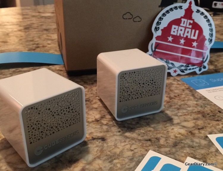 GearDiary The Air Up There: CubeSensors Are Superior Air Quality Monitors