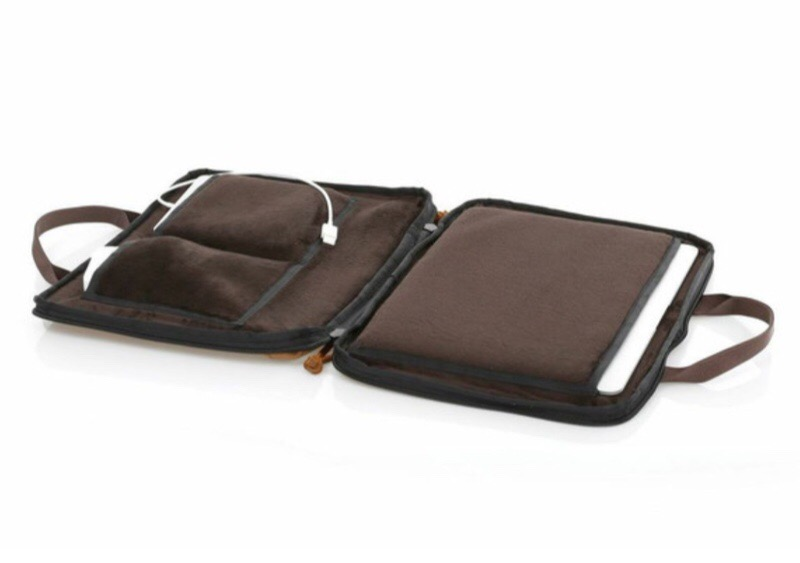 """GearDiary Waterfield Zip Briefcase for 12"""" MacBook Is Small, Light and Easy to Carry"""