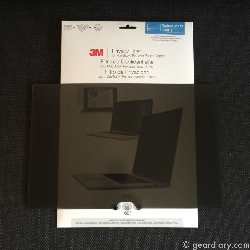 GearDiary Protect Your Visual Privacy with 3M Privacy Filters #ad