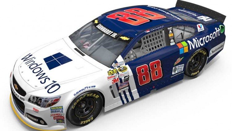 Windows 10: The Official Operating System of Hendrick Motorsports