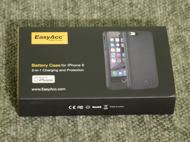 GearDiary EasyAcc 3200mAh Extended Battery Case for iPhone 6 Provides Double Duty
