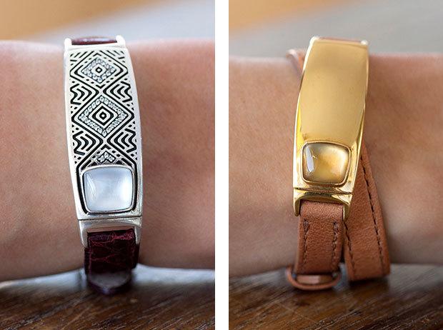 Tyia is a Techy, Yet Luxury Smart Bracelet Designed For Women