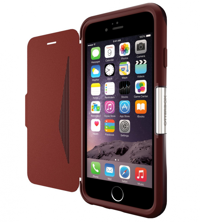Otterbox Strada Line of Protective Leather Cases for iPhone and Galaxy S6