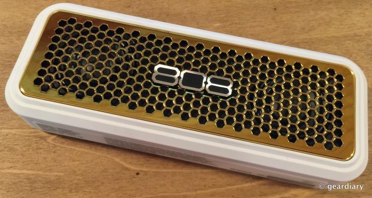 GearDiary 808 Audio XS Wireless Stereo Speaker: A Small Yet Powerful Boombox