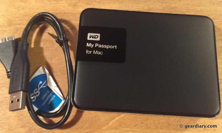 Western Digital My Passport for Mac Review: Portable, Stackable, Massive Storage