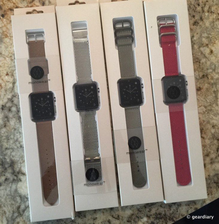 GearDiary Monowear Apple Watch Bands Aren't Just Affordable, They're Great to Wear