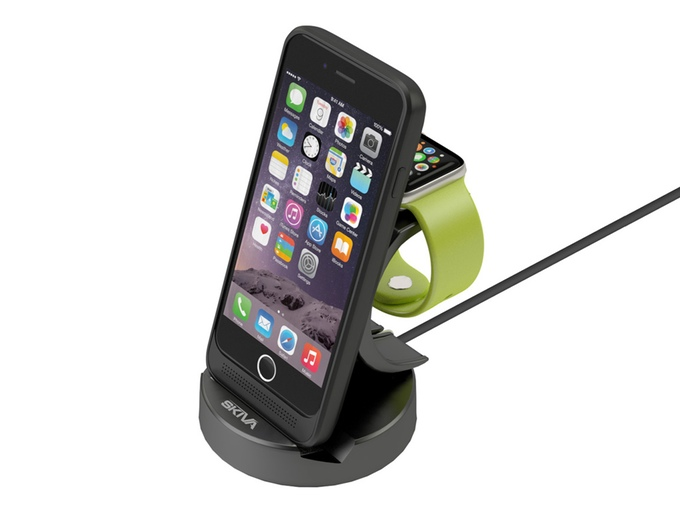 Charge Your iPhone 6 And Your Apple Watch Wirelessly with This Dock