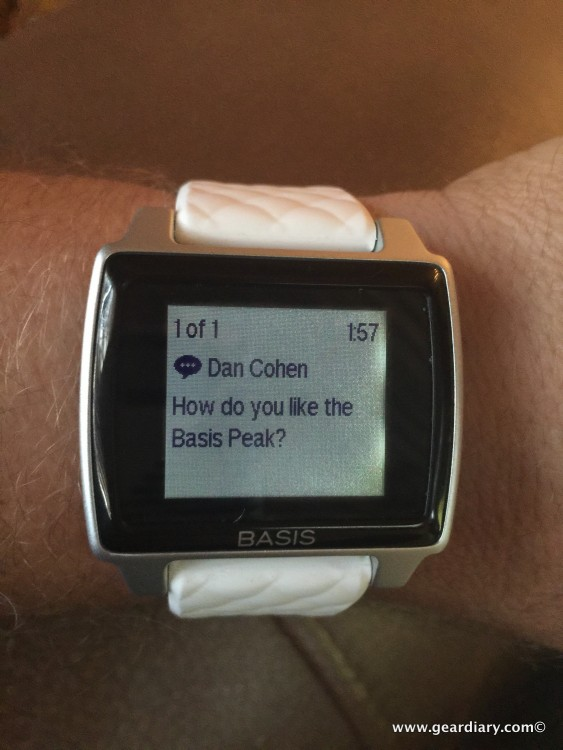 Basis Peak Review, Fitness Tracking With a Twist!