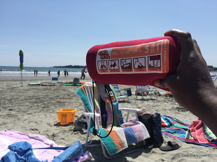 GearDiary Minus Sunblock, the Chawel Is the Only Accessory You Need to Take to the Beach
