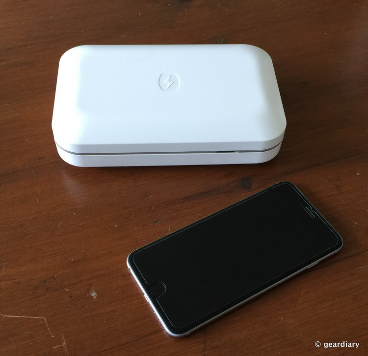 PhoneSoap Is the Device for the Inner Germophobe in Us All