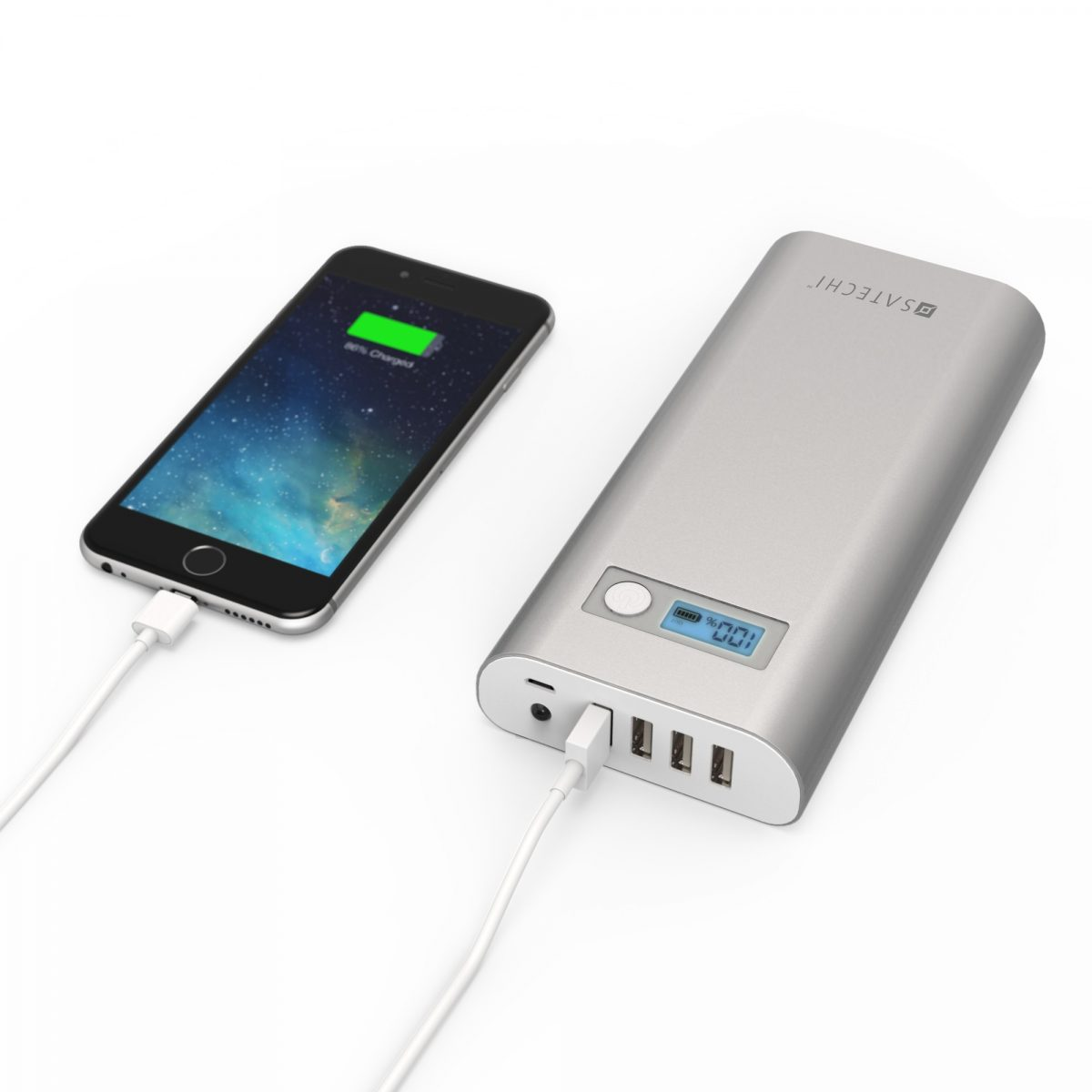 GearDiary Satechi's New Aluminum Battery Chargers Are Available, and They Charge EVERYTHING