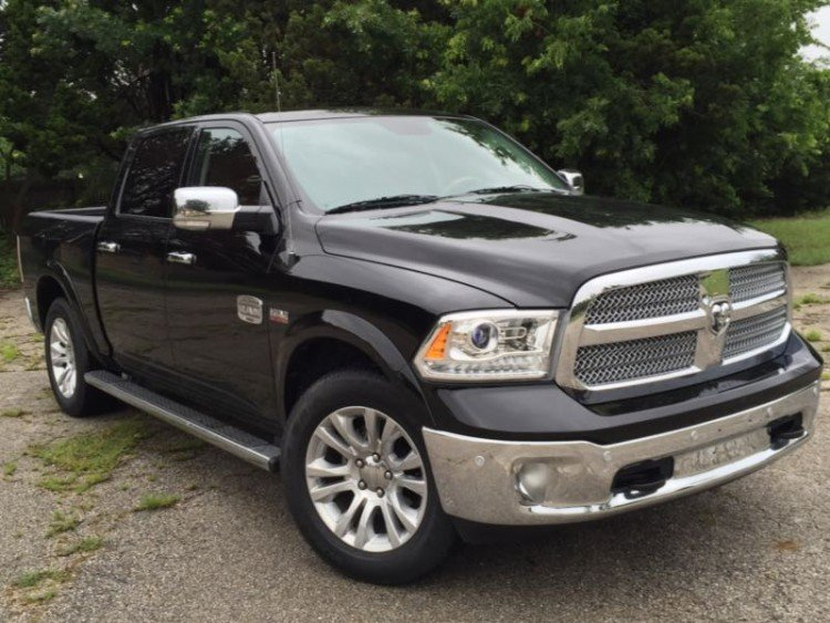2015 Ram 1500 Laramie Longhorn/Images by David Goodspeed
