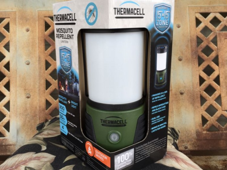 Thermacell Repellent Camp Lantern/Images by David Goodspeed