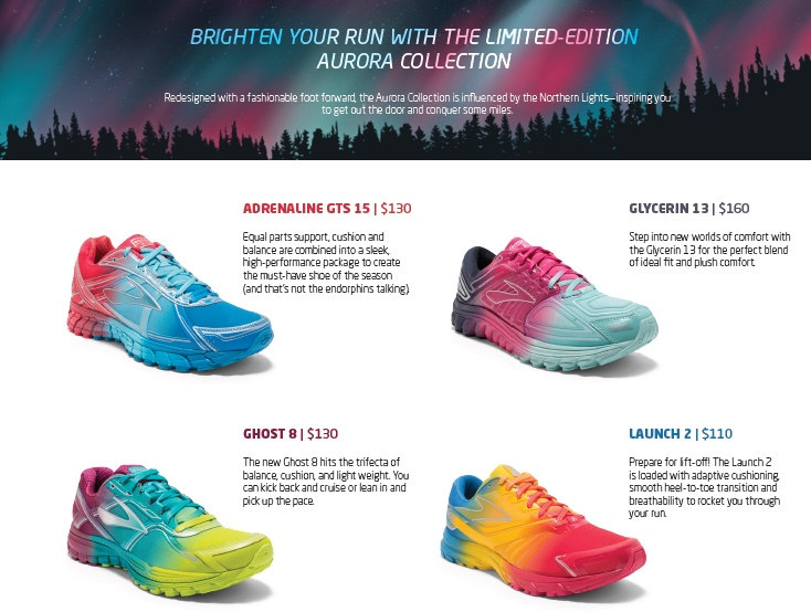 "GearDiary Brooks Wants You to ""Run Happy"" by Channeling the Aurora Borealis!"
