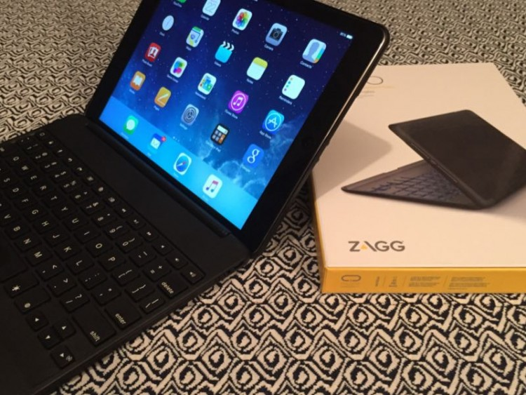 ZAGG Folio Is a Great Travel Companion for the iPad Air