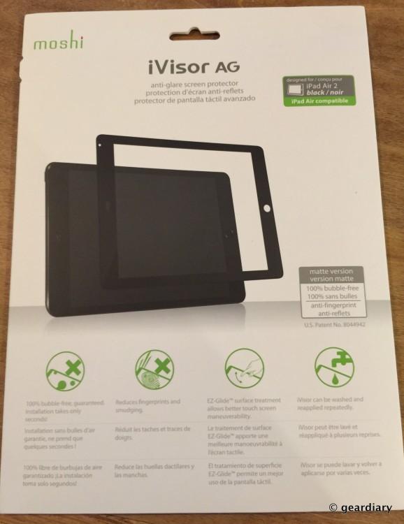 1-Gear Diary reviews the Moshi iVisor AG iPad Air 2 screen protector.32