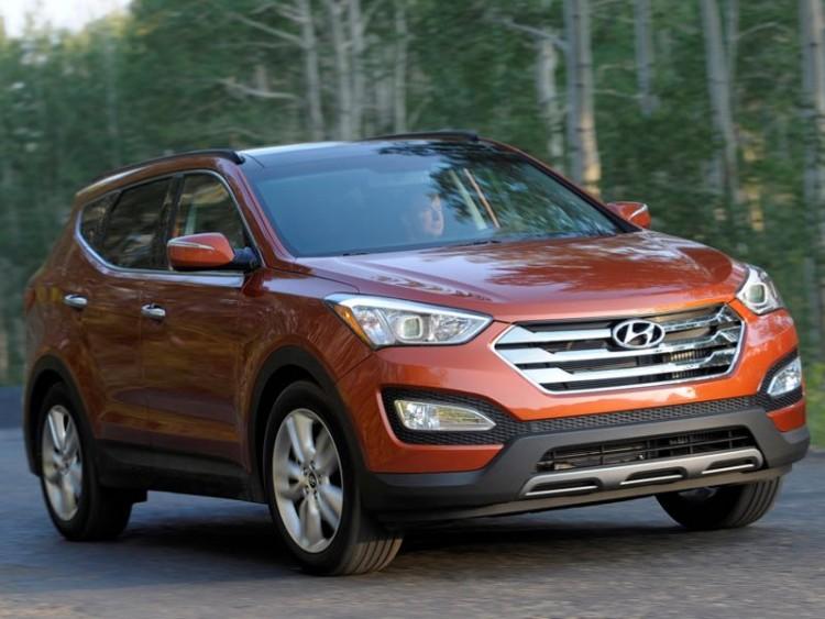 2015 Hyundai Santa Fe Sport/Images courtesy Hyundai
