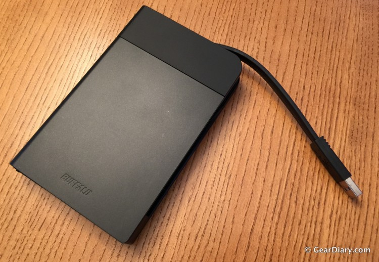 The Buffalo MiniStation Extreme NFC Hard Drive-Fast, Secure, Portable