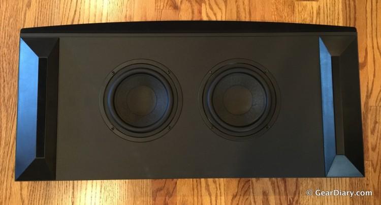 GearDiary You Deserve the Cambridge Audio TV5 2.1-Channel Speaker Base