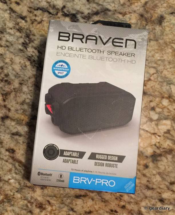 Braven's BRV-Pro Bluetooth Speaker Is the All-Terrain Speaker You Should Have