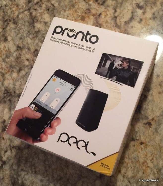 The Pronto Peel Transforms Your Smartphone Into A Remote For Your TV