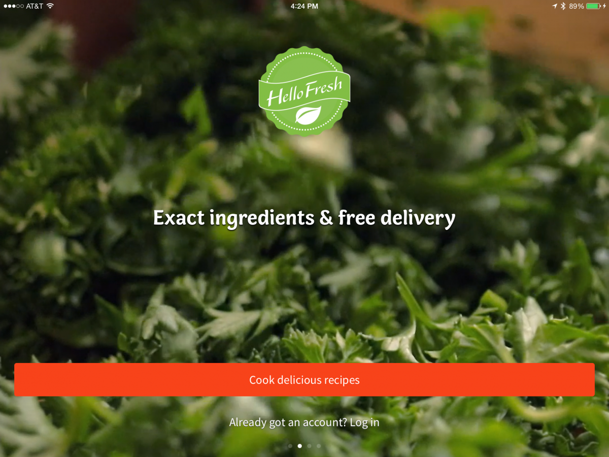 GearDiary Hello Fresh and The New iPad App Might Turn Me Into a Cook!