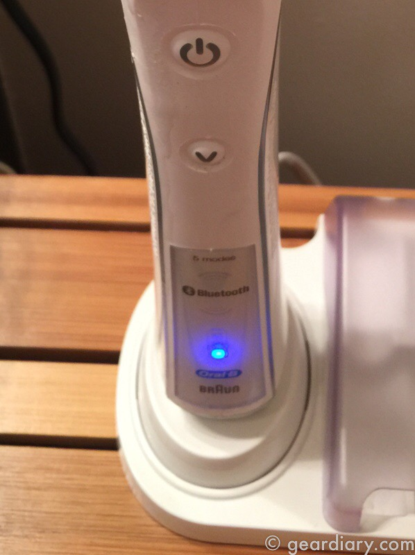 GearDiary Oral-B Pro 5000 SmartSeries Electric Toothbrush Adds Bluetooth to Your Morning Routine