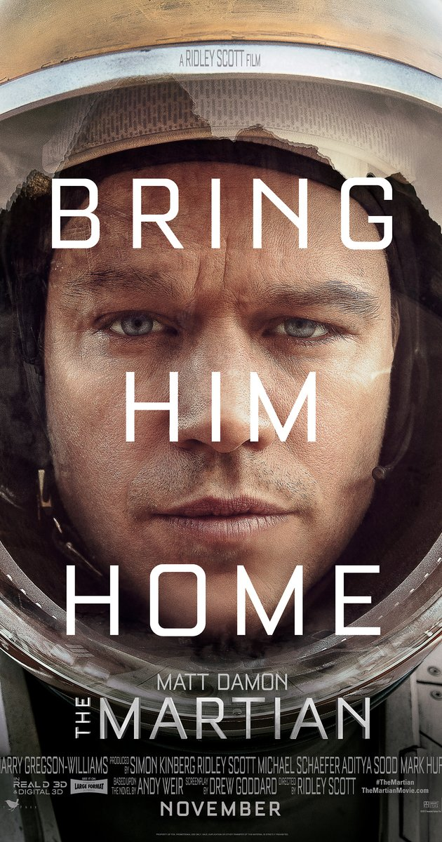 GearDiary 'The Martian' Is Setting a High Bar with Amazing Trailers