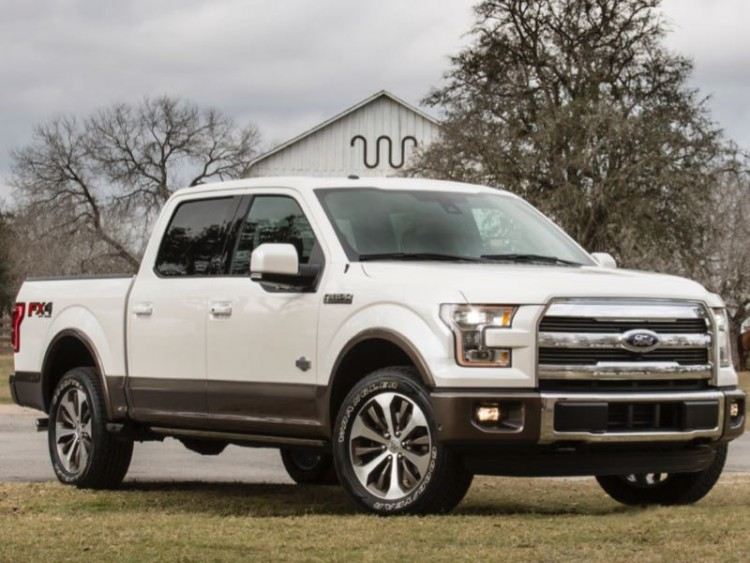 2015 Ford F-150 King Ranch/Images courtesy Ford