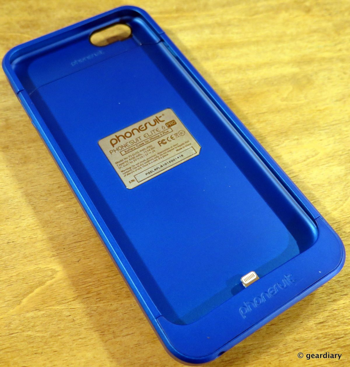 los angeles 47790 78c5f PhoneSuit Elite 6 Pro Battery Case for the iPhone 6 Plus: Bright and ...
