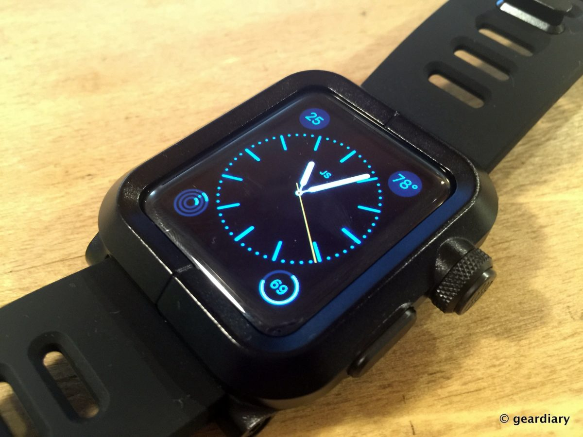 GearDiary The LUNATIK EPIK Turns Your 42mm Apple Watch into a Tank!