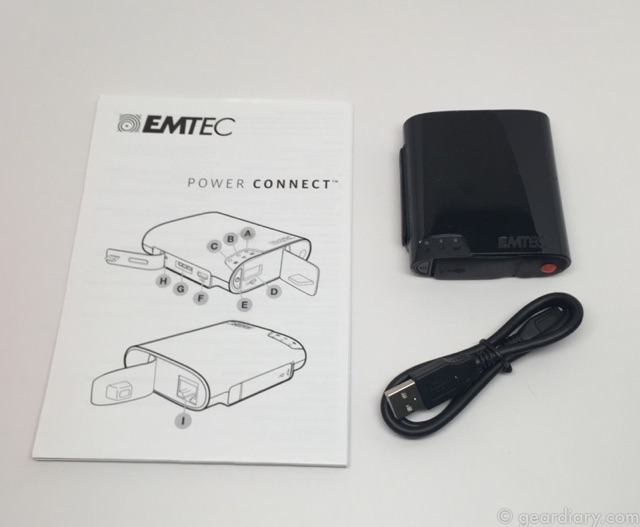 EMTEC's Power Connect Battery Pack Also Carries Your Files!