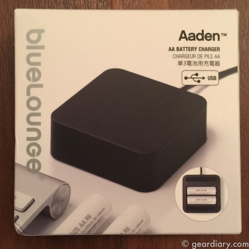 GearDiary Bluelounge Aaden Charges Rechargables on the Go