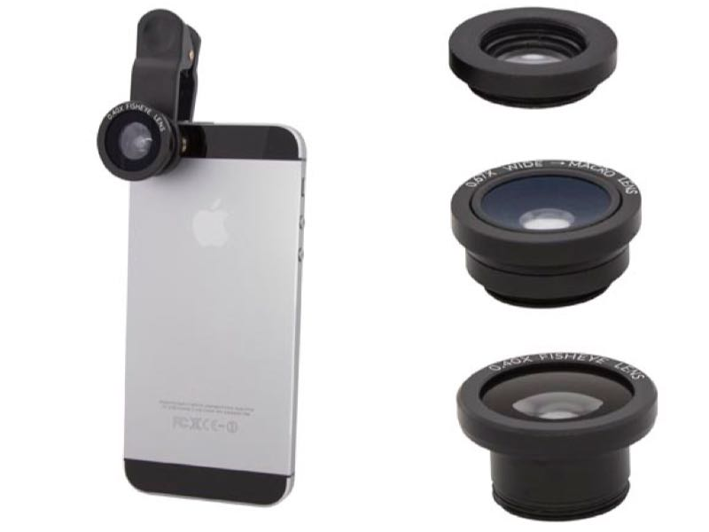 GearDiary USBFever Clip-On Lenses Enhance Your Mobile Photography Quickly and Easily
