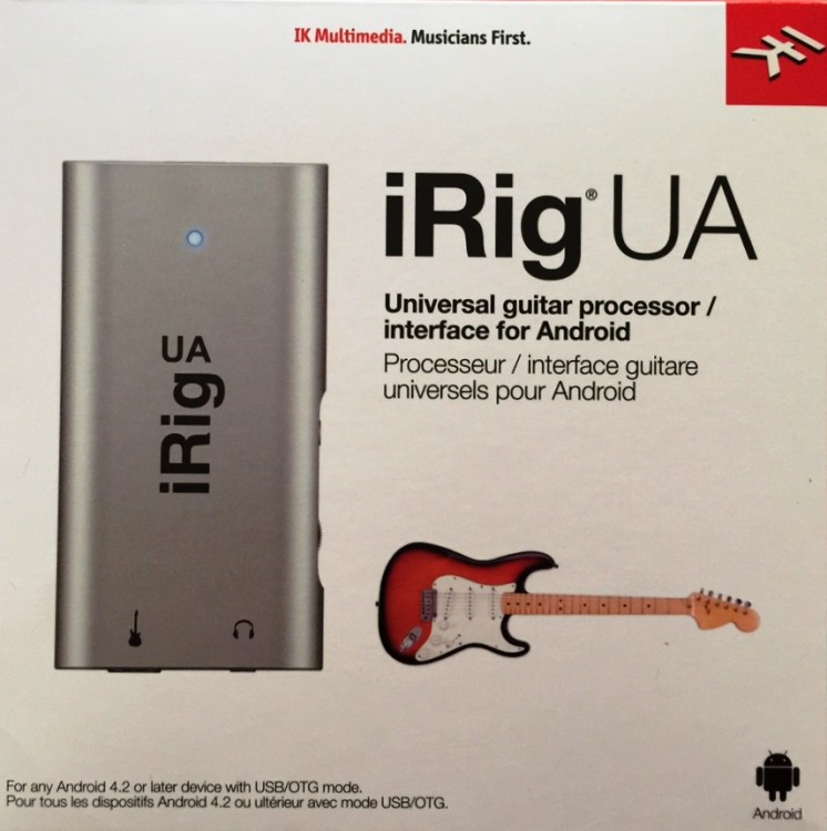 IK Multimedia's iRig UA Audio Interface Brings Zero Latency to Android