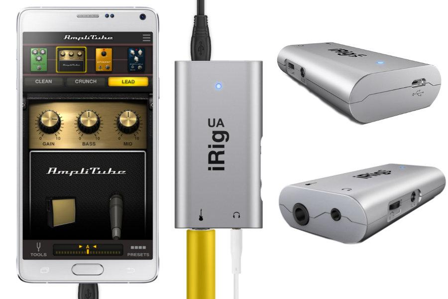 GearDiary IK Multimedia's iRig UA Audio Interface Brings Zero Latency to Android