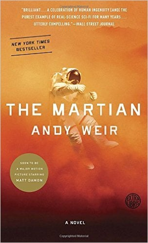 GearDiary Gear Diary Book Club's Next Book is...The Martian!