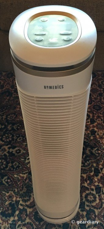 GearDiary HoMedics AirMaster Air Purifier: Tame Those Pet Odors Once and for All!