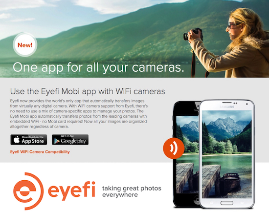 EyeFi's Cloud Program Is for the Photographer Always on the Go