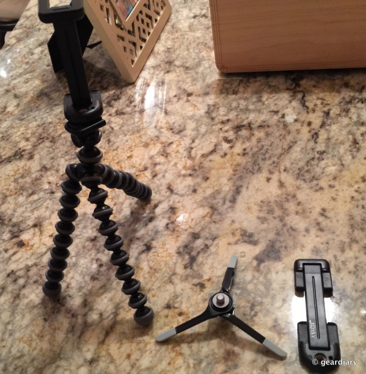 The GripTight GorillaPod&MicroStand XL By Joby Are PERFECT For Your New iPhone 6S