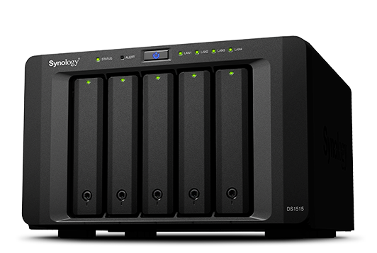 Synology DS1515 Network Attached Storage is Perfect for Home, Office
