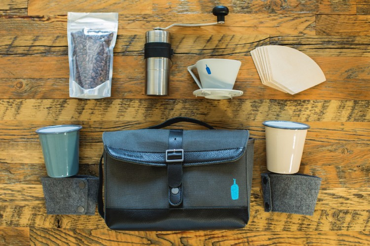 1-Timbuk2 x Blue Bottle Weekender Travel Kit, photo credit Alicia Cho