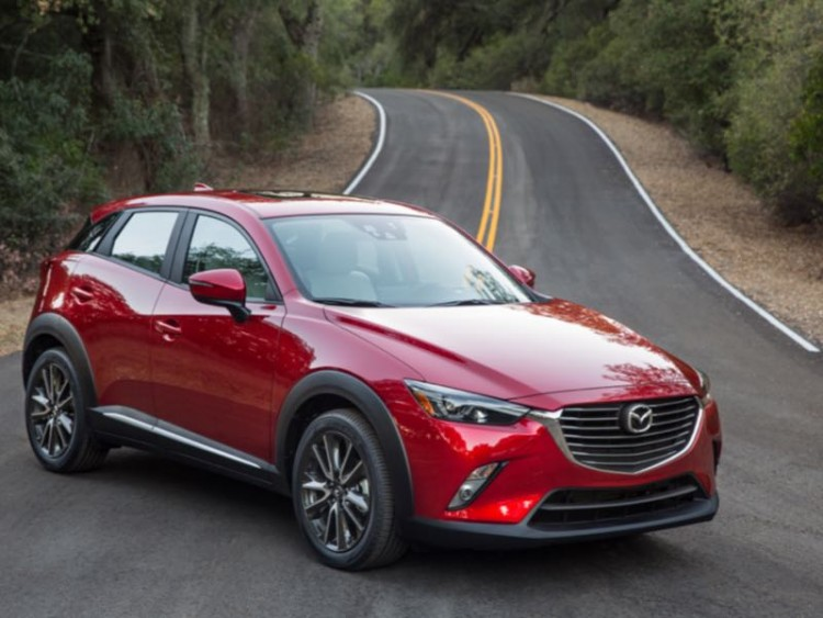2016 Mazda CX-3/Images courtesy Mazda