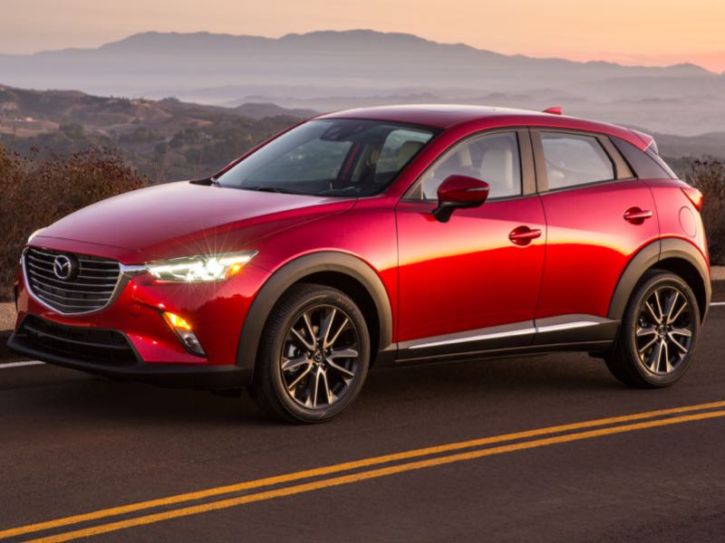 GearDiary 2016 Mazda CX-3 Joins the New Subcompact Crossover Craze