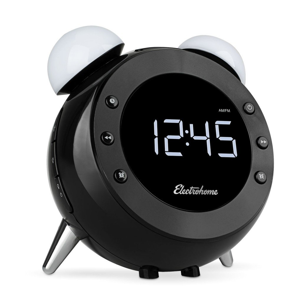 The Electrohome Retro Alarm Clock Radio Shines on My Night Table
