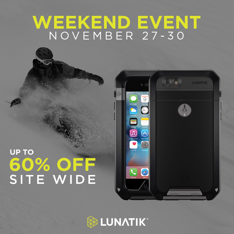 GearDiary Get Ready for the Hot Black Friday Deals from LUNATIK